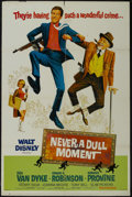 """Movie Posters:Comedy, Never a Dull Moment (Buena Vista, 1968). One Sheet (27"""" X 41"""") Style A. Comedy. Starring Dick Van Dyke, Edward G. Robinson, ..."""
