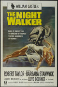 """Movie Posters:Horror, The Night Walker (Universal, 1964). One Sheet (27"""" X 41""""). Thriller. Directed by William Castle. Starring Robert Taylor, Bar..."""