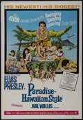 "Movie Posters:Elvis Presley, Paradise, Hawaiian Style (Paramount, 1966). One Sheet (27"" X 41"").Musical. Starring Elvis Presley, Suzanna Leigh, James Shi..."
