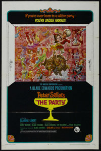 """The Party (United Artists, 1968). One Sheet (27"""" X 41"""") Style B. Comedy. Directed by Blake Edwards. Starring P..."""