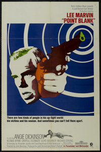 """Point Blank (MGM, 1967). One Sheet (27"""" X 41""""). Crime. Starring Lee Marvin, Angie Dickinson, Keenan Wynn and C..."""