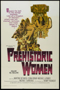 "Movie Posters:Adventure, Prehistoric Women (Warner Brothers, 1967). One Sheet (27"" X 41"").Adventure. Starring Martine Beswicke, Edina Ronay, Michael..."