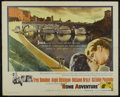 """Movie Posters:Romance, Rome Adventure (Warner Brothers, 1962). Half Sheet (22"""" X 28""""). Drama. Directed by Delmer Daves. Starring Troy Donahue, Angi..."""