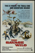 "Movie Posters:Adventure, The Savage Wild (American International, 1970). One Sheet (27"" X41""). Drama. Starring Gordon Eastman, Carl Spore, Maria Eas..."