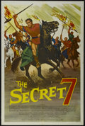 "Movie Posters:Adventure, The Secret 7 (MGM, 1966). One Sheet (27"" X 41""). Adventure.Starring Tony Russel, Helga Liné, Gérard Tichy and Massimo Serat..."
