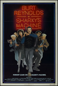 "Sharky's Machine (Orion, 1981). One Sheet (27"" X 41""). Crime Thriller. Starring Burt Reynolds, Vittorio Gassma..."