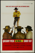"""Movie Posters:Western, Shoot Out (Universal, 1971). One Sheet (27"""" X 41""""). Western. Starring Gregory Peck, Pat Quinn, Robert F. Lyons and John Chan..."""
