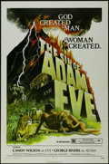 "Movie Posters:Drama, The Sin of Adam and Eve (Dimension Films, 1972). One Sheet (27"" X 41""). Drama. Starring Candy Wilson and George Rivers (Jorg..."