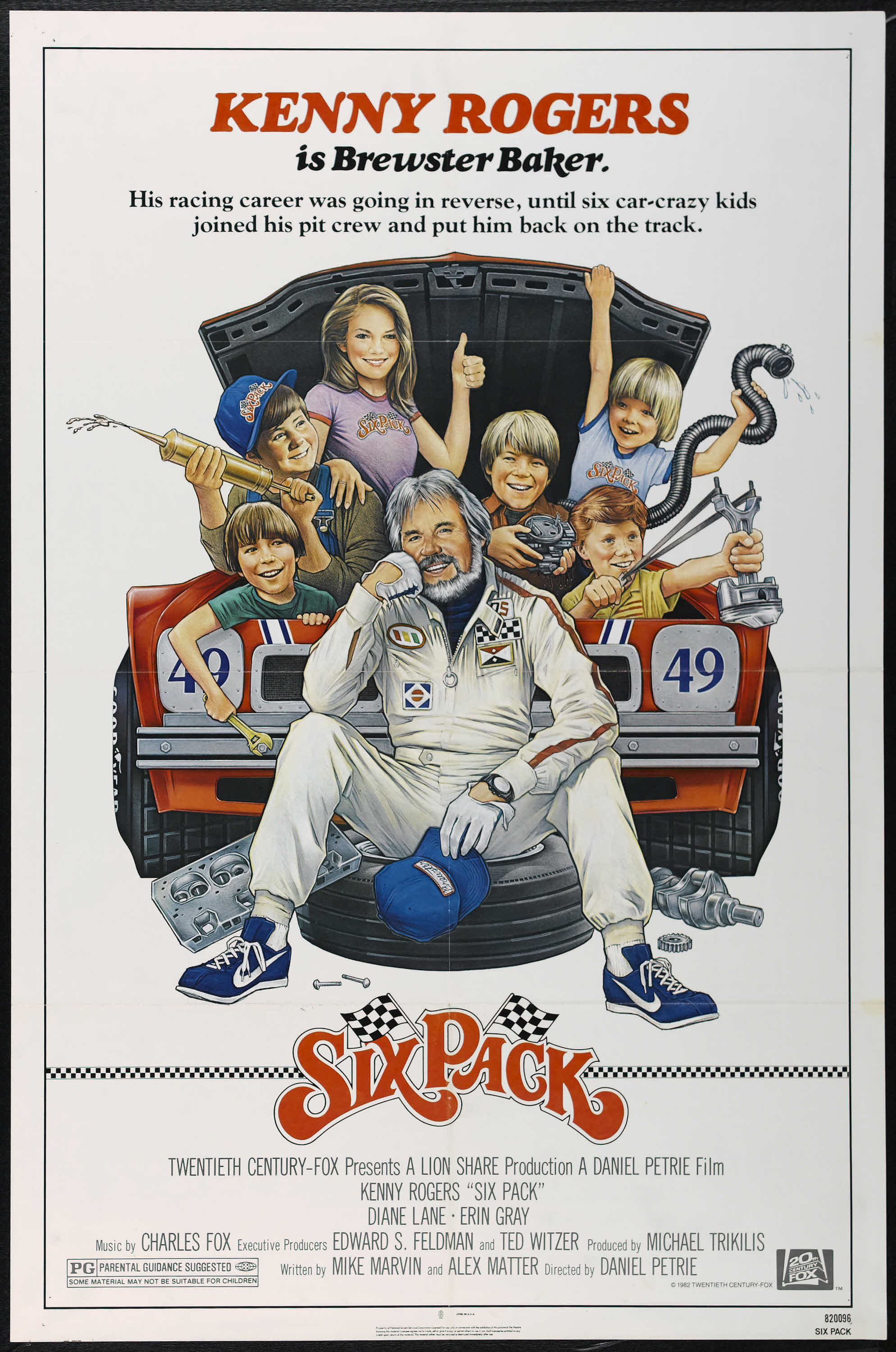 Six Pack 20th Century Fox 1982 One Sheet 27 X 41 Comedy Lot 26333 Heritage Auctions