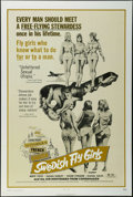 "Movie Posters:Bad Girl, Swedish Fly Girls (Trans American, 1972). One Sheet (27"" X 41"").Adult Comedy. Starring Birte Tove, Susan Hurley, Inger Sten..."