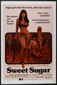 """Sweet Sugar (Dimension Pictures, 1972). One Sheet (27"""" X 41""""). Action. Directed by Michel Levesque. Starring P..."""