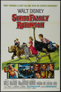 "Movie Posters:Adventure, Swiss Family Robinson (Buena Vista, R-1972). One Sheet (27"" X 41"").Adventure. Directed by Ken Annakin. Starring John Mills,..."