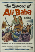 "Movie Posters:Adventure, The Sword of Ali Baba (Universal, 1965). One Sheet (27"" X 41"").Adventure. Starring Peter Mann, Jocelyn Lane, Frank McGrath ..."