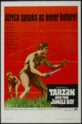"Movie Posters:Adventure, Tarzan and the Jungle Boy (Paramount, 1968). One Sheet (27"" X 41"").Action Adventure. Starring Mike Henry, Rafer Johnson, Al..."
