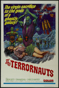 """Movie Posters:Science Fiction, The Terrornauts (Embassy Pictures, 1967). One Sheet (27"""" X 41""""). Science Fiction. Directed by Montgomery Tully. Starring Sim..."""