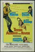 """Movie Posters:Comedy, Texas Across the River (Universal, 1966). One Sheet (27"""" X 41""""). Western. Directed by Michael Gordon. Starring Dean Martin, ..."""