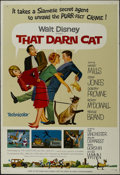 """Movie Posters:Comedy, That Darn Cat (Buena Vista, 1965). One Sheet (27"""" X 41"""") Style A. Comedy. Starring Hayley Mills, Dean Jones, Dorothy Provine..."""