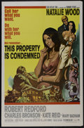 """Movie Posters:Drama, This Property is Condemned (Paramount, 1966). One Sheet (27"""" X 41""""). Romantic Drama. Starring Natalie Wood, Robert Redford, ..."""