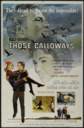 "Movie Posters:Drama, Those Calloways (Buena Vista, 1965). One Sheet (27"" X 41""). Drama. Starring Brian Keith, Vera Miles, Brandon de Wilde and Wa..."
