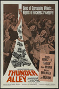 "Movie Posters:Action, Thunder Alley (American International, 1967). One Sheet (27"" X 41""). Sports Drama. Starring Annette Funicello, Fabian, Diane..."
