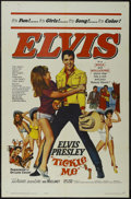 """Movie Posters:Musical, Tickle Me (Allied Artists, 1965). One Sheet (27"""" X 41""""). Rock Musical. Directed by Norman Taurog. Starring Elvis Presley, Ju..."""