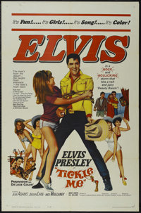 """Tickle Me (Allied Artists, 1965). One Sheet (27"""" X 41""""). Rock Musical. Directed by Norman Taurog. Starring Elv..."""
