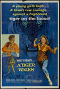 "Movie Posters:Drama, A Tiger Walks (Buena Vista, 1964). One Sheet (27"" X 41""). Drama. Starring Brian Keith, Vera Miles, Pamela Franklin and Sabu...."
