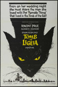 """Movie Posters:Horror, The Tomb of Ligeia (AIP, 1965). One Sheet (27"""" X 41""""). Horror. Directed by Roger Corman. Starring Vincent Price and Elizabet..."""