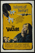 """Movie Posters:Horror, The Vulture (Paramount, 1966). One Sheet (27"""" X 41""""). Sci-Fi Horror. Starring Robert Hutton, Akim Tamiroff, Broderick Crawfo..."""