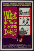 """Movie Posters:Comedy, What Did You Do in the War, Daddy? (United Artists, 1966). One Sheet (27"""" X 41""""). Comedy. Directed by Blake Edwards. Starrin..."""