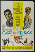 """Movie Posters:Comedy, The Wheeler Dealers (MGM, 1963). One Sheet (27"""" X 41""""). Comedy. Starring James Garner, Lee Remick, Phil Harris, Chill Wills ..."""
