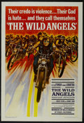 "Movie Posters:Action, The Wild Angels (AIP, 1966). One Sheet (27"" X 41""). Drama. Directedby Roger Corman. Starring Peter Fonda, Nancy Sinatra, Br..."