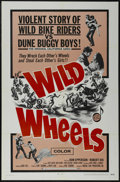 "Movie Posters:Action, Wild Wheels (Fanfare, 1969). One Sheet (27"" X 41""). Action.Directed by Kent Osborne. Starring Don Epperson, Robert Dix, Cas..."