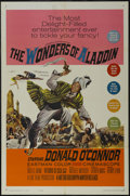 "Movie Posters:Fantasy, The Wonders of Aladdin (MGM, 1961). One Sheet (27"" X 41""). Fantasy.Starring Donald O'Connor, Noëlle Adam, Vittorio De Sica,..."