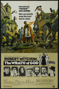 """Wrath of God (MGM, 1972). One Sheet (27"""" X 41"""") Style A. Western Comedy. Directed by Ralph Nelson. Starring Ro..."""