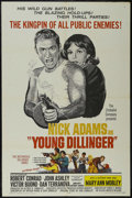"""Movie Posters:Crime, Young Dillinger (Allied Artists, 1965). One Sheet (27"""" X 41""""). Crime. Starring Nick Adams, Robert Conrad, John Ashley, Victo..."""