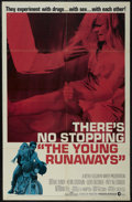 """Movie Posters:Drama, The Young Runaways (MGM, 1968). One Sheet (27"""" X 41""""). Drama. Directed by Arthur Dreifuss. Starring Brooke Bundy, Kevin Coug..."""