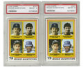 Baseball Cards:Singles (1970-Now), 1978 Topps Alan Trammell/Paul Molitor #707 PSA NM-MT 8 Group Lot of2. Two PSA-graded cards from the 1978 Topps issue focus... (Total:2 Items)