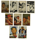 Baseball Cards:Lots, 1953 Topps and Bowman Baseball Group Lot of 46. Forty-six cardsfrom a fantastic year in baseball card collecting are offer...