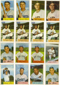 Baseball Cards:Lots, 1954 Bowman Baseball Group Lot of 119. From one of the mostdesirable postwar baseball issues we offer 119 examples of card...