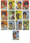 Baseball Cards:Lots, 1954 Topps Baseball Group Lot of 80. From one of their mostsought-after issues, the '54 Topps set is represented with this...