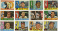 Autographs:Sports Cards, 1960 Topps Baseball Signed Cards Group Lot of 143. Group of 143cards from the 1960 Topps issue, all signed. Highlights in...