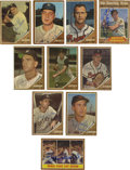 Autographs:Sports Cards, 1962 Topps Baseball Signed Cards Group Lot of 83. Group of 83 cardsfrom the 1962 Topps issue, all signed. Highlights incl...
