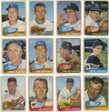 Autographs:Sports Cards, 1965 Topps Baseball Signed Cards Group Lot of 141. Group of 141 cards from the 1965 Topps issue, all signed. Highlights in...