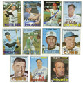 Autographs:Sports Cards, 1967 Topps Baseball Signed Cards Group Lot of 147. Massivecollection of signed baseball cards, all from Topps' 1967 issue....