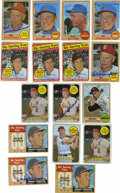 Autographs:Sports Cards, 1968-69 Topps Baseball Signed Cards Group Lot of 29. Twenty-ninecards are being offered from the 1968 and 1969 Topps baseb...