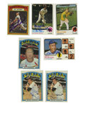 Autographs:Sports Cards, 1972-73 Topps Baseball Signed Cards Group Lot of 20. Twenty signed cards from the 1972 and 1973 Topps Baseball issues. Incl...