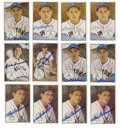 Autographs:Sports Cards, 1983 Original All Stars Signed Cards Group Lot of 12. One dozen signed cards from the Original All Stars issue from 1983. ...