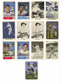 Autographs:Sports Cards, Baseball Hall of Famers Signed Cards Group Lot of 13. A baker'sdozen of HOFer signed cards is made available here, with al...