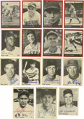 Autographs:Sports Cards, Indians/Reds/Yankees Signed TCMA Baseball Cards Group Lot of 15.Group of fifteen TCMA cards focusing on Indians, Reds, and...
